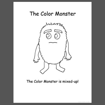 The Color Monster Color Book