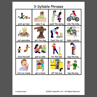 3-Syllable Phrases
