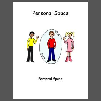 personal space clipart social story