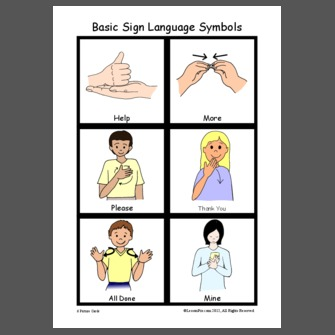 how to learn basic sign language