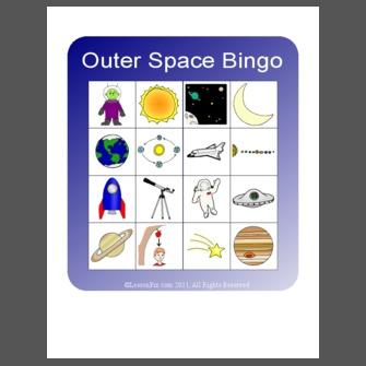 astronomy bingo - photo #34