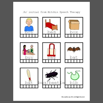Bed Bug Phonology