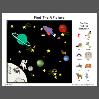 Find The R Picture