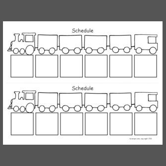 Train Schedule Template