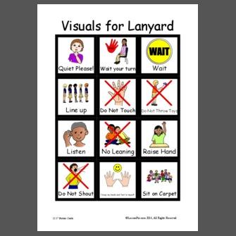 Visuals For Lanyard
