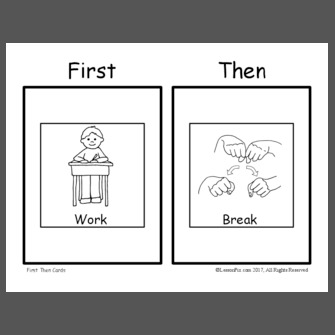 First work then break