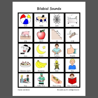 Bilabial Sounds