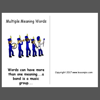 multiple meaning words anchor chart - Google Search | anchor ...