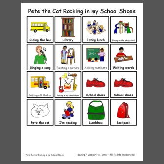 Pete the Cat Rocking in my School Shoes. Download