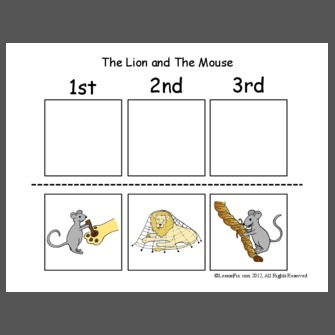 The Lion and The Mouse - Sequence