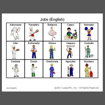 لیست مشاغل به زبان انگلیسی با ترجمه فارسی