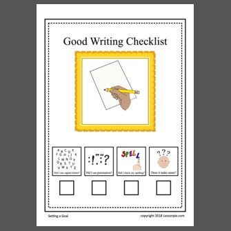 checklist for good writing A writer's checklist: a quick guide to creating great content  of short and long  sentences to avoid monotony and create a good cadence.