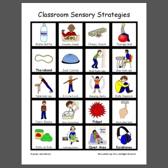 Classroom Sensory Strategies