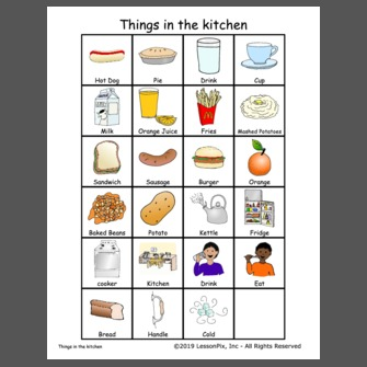 Things In The Kitchen