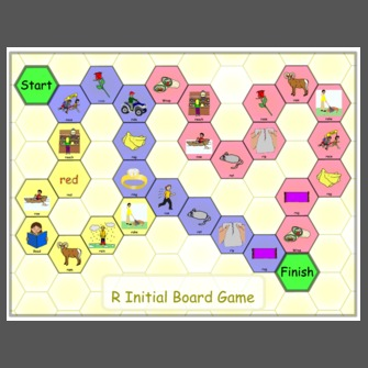 R Initial Board Game