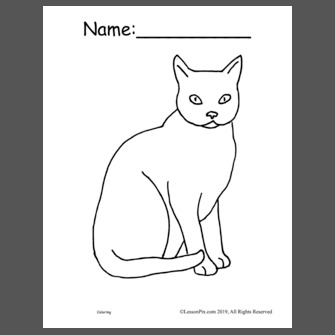 The Little Red Hen Coloring Pages