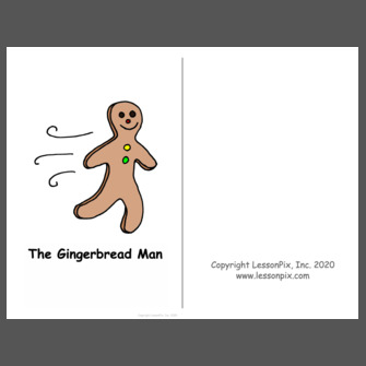 The Gingerbread Man-Story