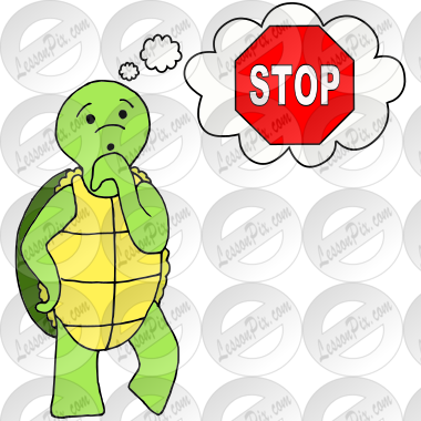 Stop to Think Turtle Picture