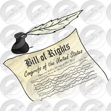 bill of rights picture for classroom therapy use great bill of rh lessonpix com english bill of rights clipart Bill of Rights Cartoons