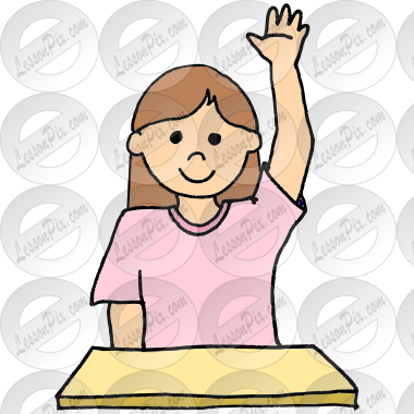raise hand picture for classroom therapy use great raise hand rh lessonpix com raise hand clipart raise hand clipart black and white
