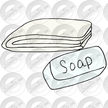 Soap and Washcloth Picture