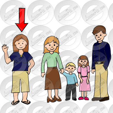 aunt picture for classroom therapy use great aunt clipart rh lessonpix com ant clip art coloring pages ant clip art images