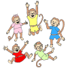 5+Little+Monkeys Picture