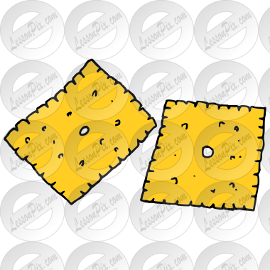 cheese crackers picture for classroom therapy use great cheese rh lessonpix com goldfish crackers clipart crackers clipart images