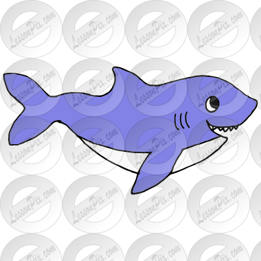 Shark Picture for Classroom / Therapy Use - Great Shark ...