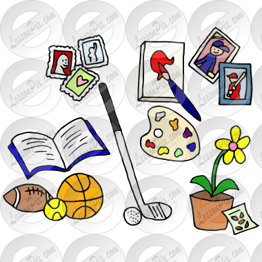 Hobbies Picture For Classroom Therapy Use Great Hobbies Clipart