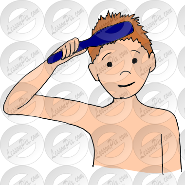 Brush Picture for Classroom / Therapy Use - Great Brush Clipart