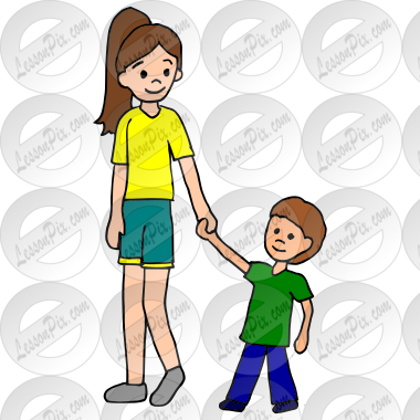 babysitter picture for classroom therapy use great babysitter rh lessonpix com babysitter clipart babysitter clip art