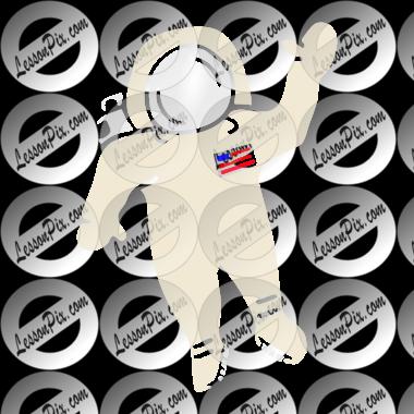 astronaut stencil template - photo #16