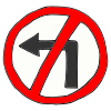 No+turn+on+red. Picture