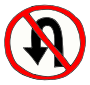 No U Turn Picture