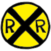 railroad sign Picture