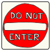Do+Not+Enter Picture