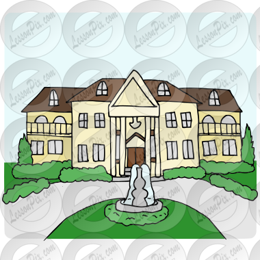 mansion picture for classroom therapy use great mansion clipart rh lessonpix com big mansion clipart mansion clipart images
