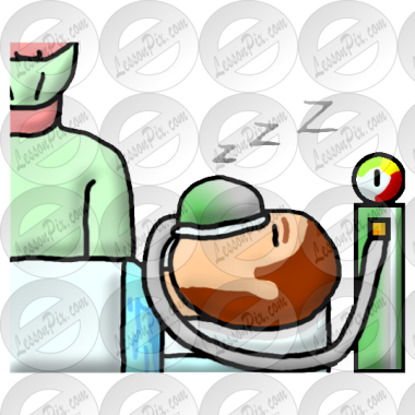 anesthesia picture for classroom therapy use great