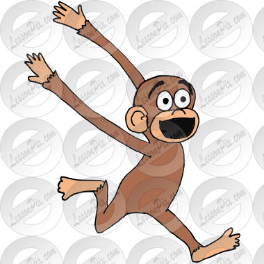 Excited Monkey Picture