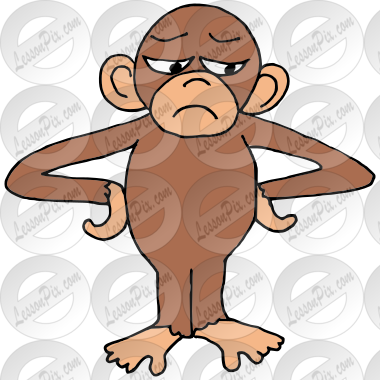 Irritated Monkey Picture