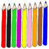 Colored Pencils Picture