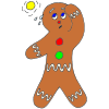 Hot Gingerbread Man Picture