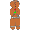 Calm Gingerbread Man Picture