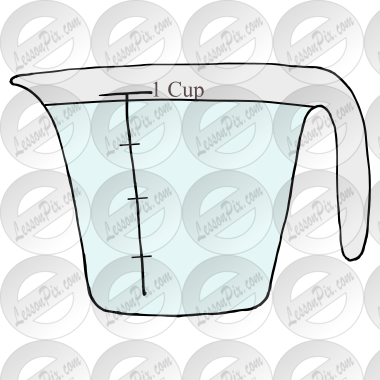 Measuring Cup Picture for Classroom / Therapy Use - Great ...