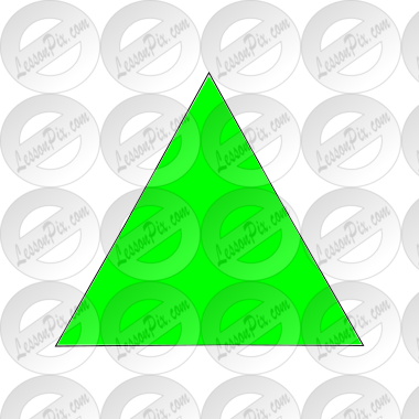 Green Triangle Picture
