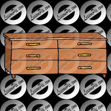 Clip Art Dresser Dresser picture