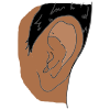 right ear Picture