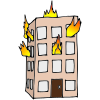 Building+on+fire Picture