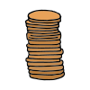 Stacks+pennies Picture
